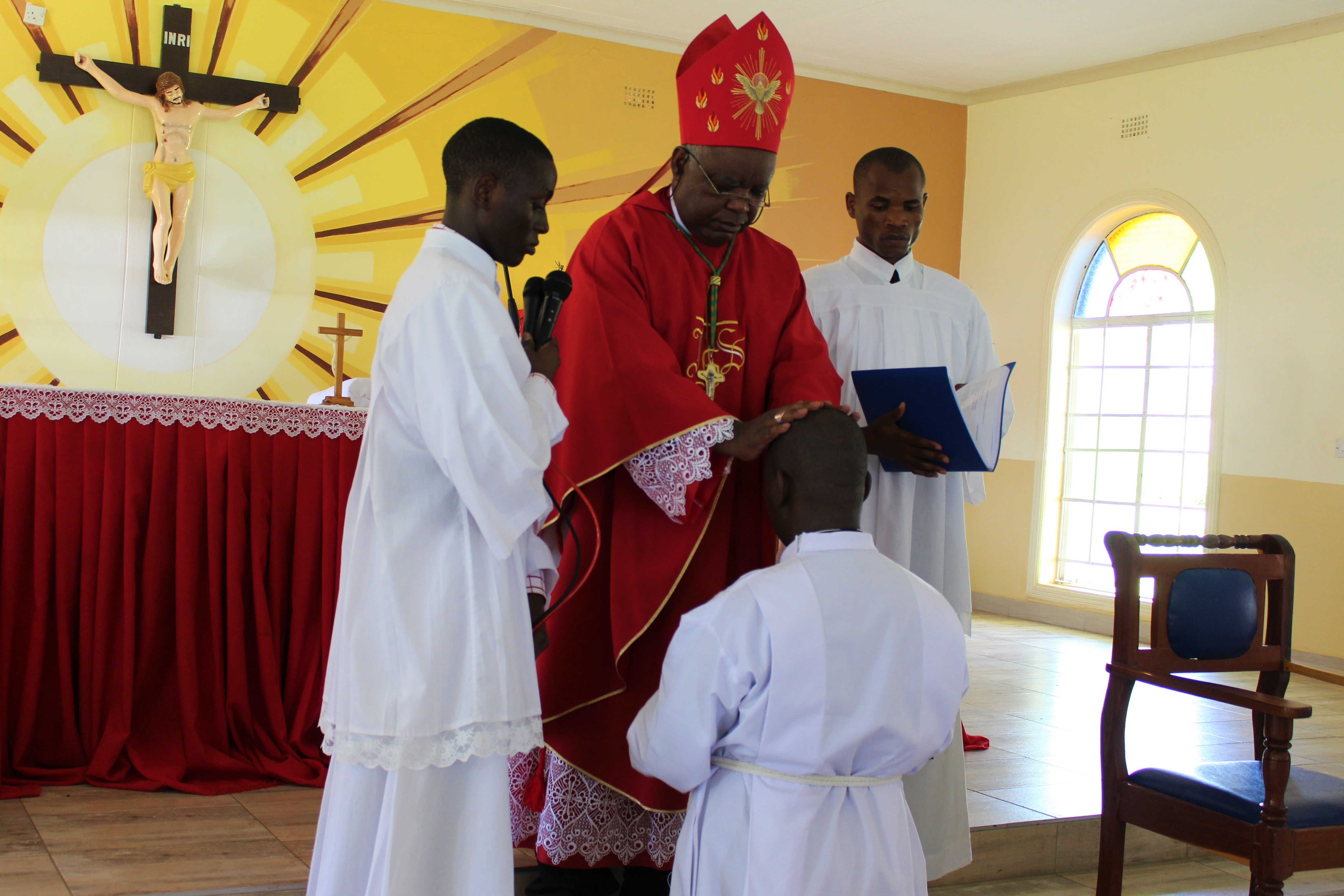 Bishop Mtumbuka Ordains Edward Kamanga to Diaconate