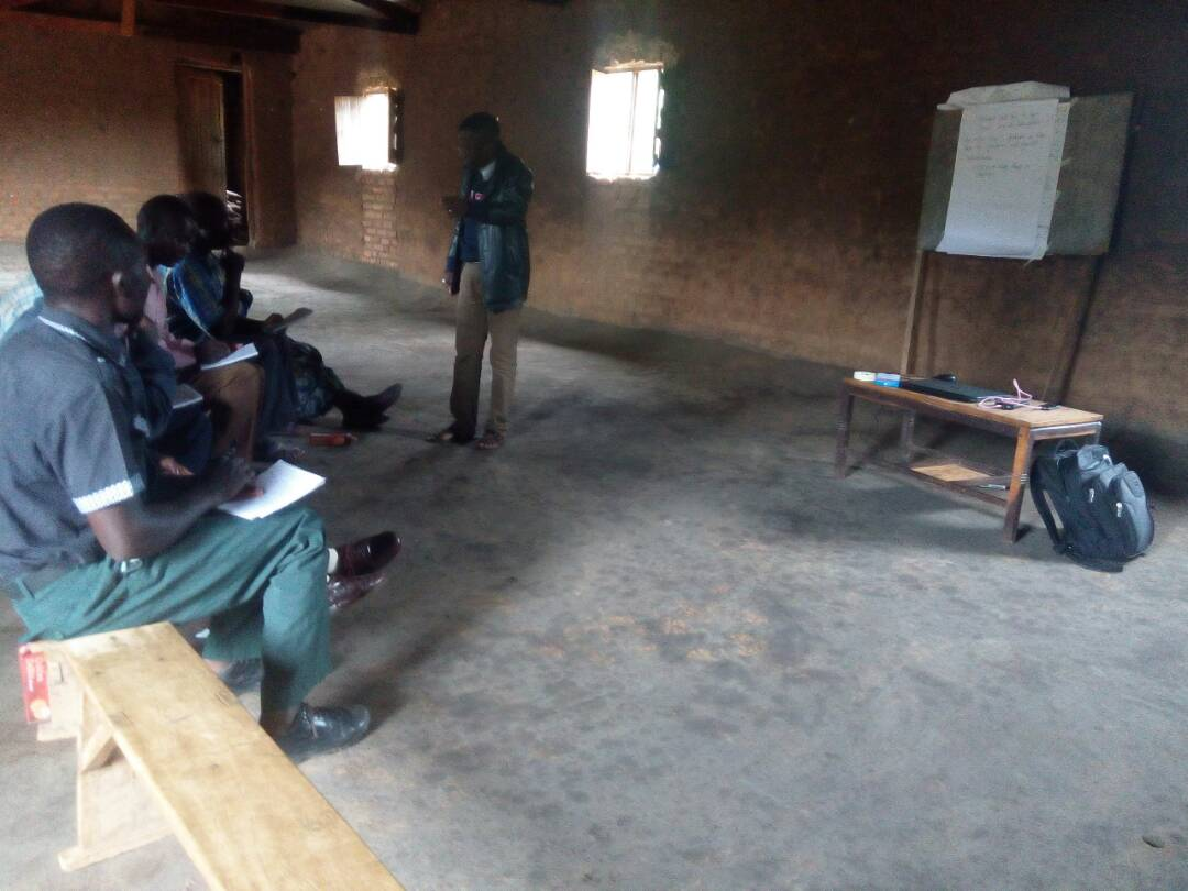 Education Desk Promoting English Speaking among Sunday School Children