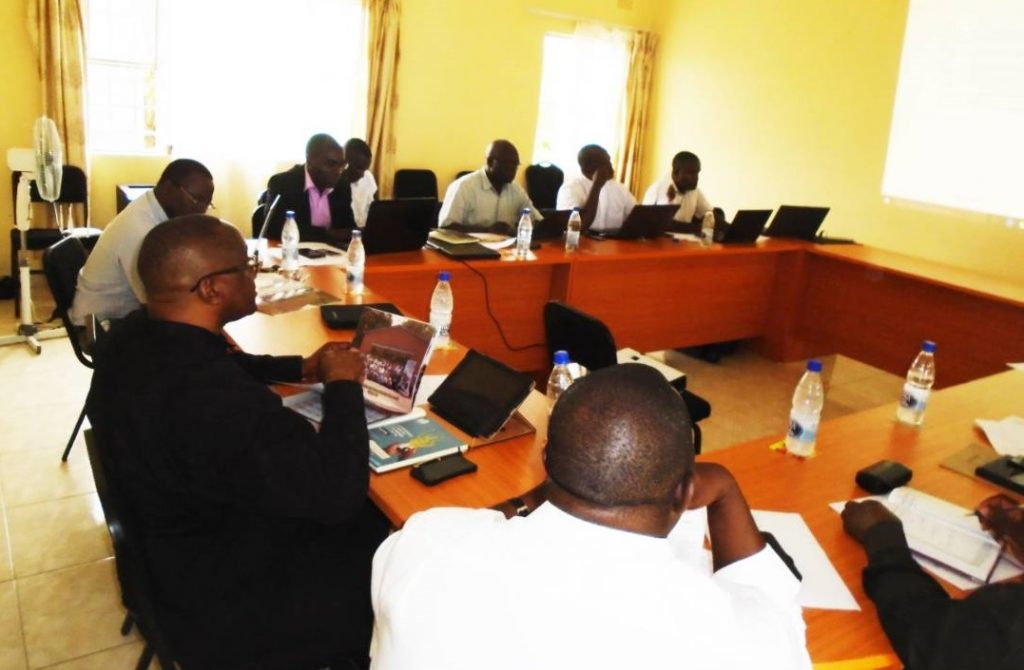 Picture of Participants at the planning meeting