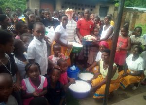 St Mary's Junior Sunday School in Easter Charity Activity