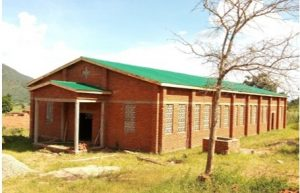 Chisankhwa Outstation New Church Construction at an Advanced Stage