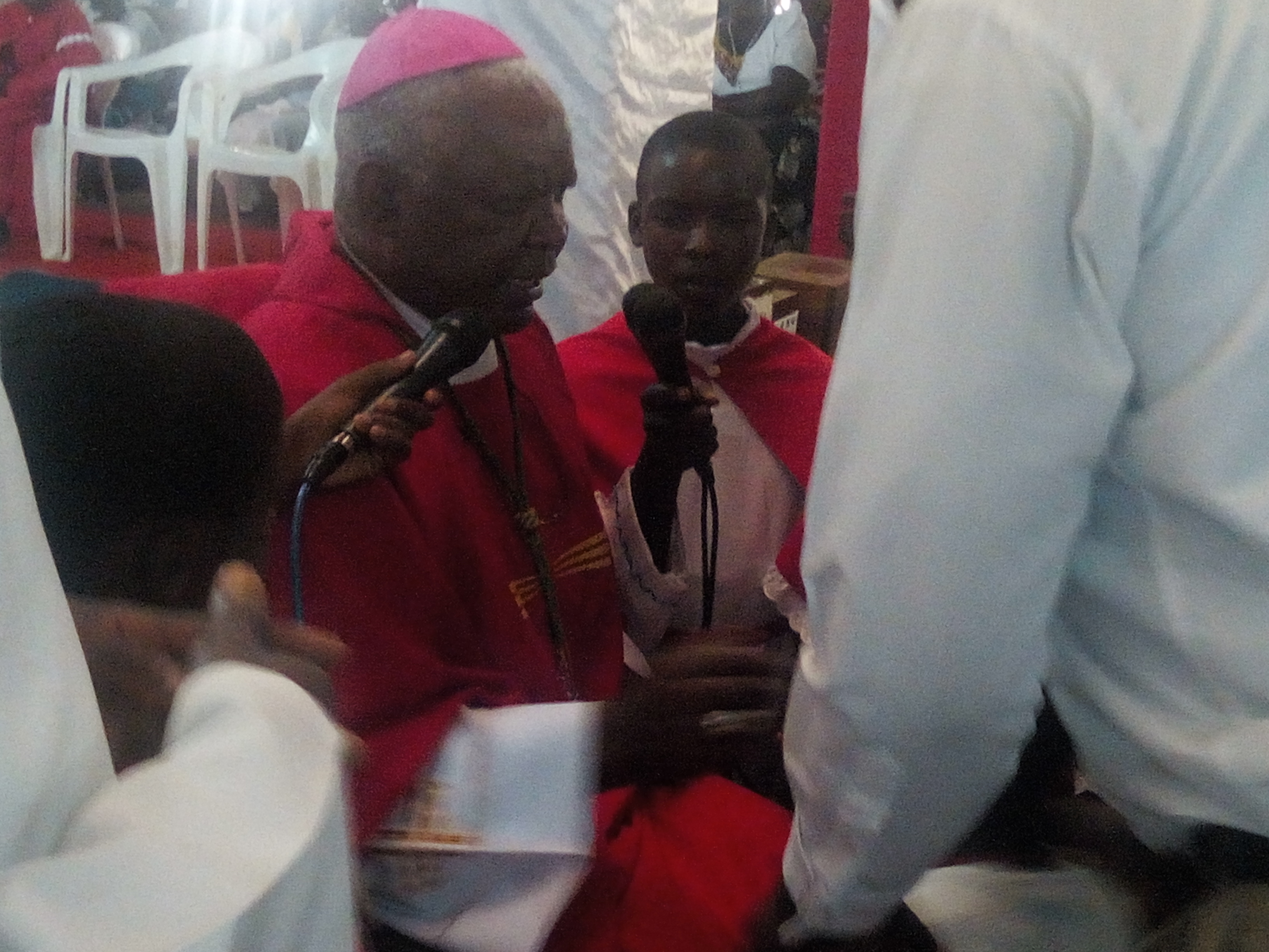 Bishop Mtumbuka Exhorts Newly Confirmed Christians to Profess and Live their Faith