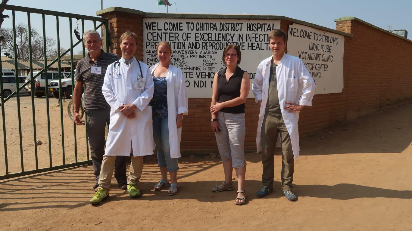 2018 Third INTERPLAST Team Arrives in Karonga Diocese