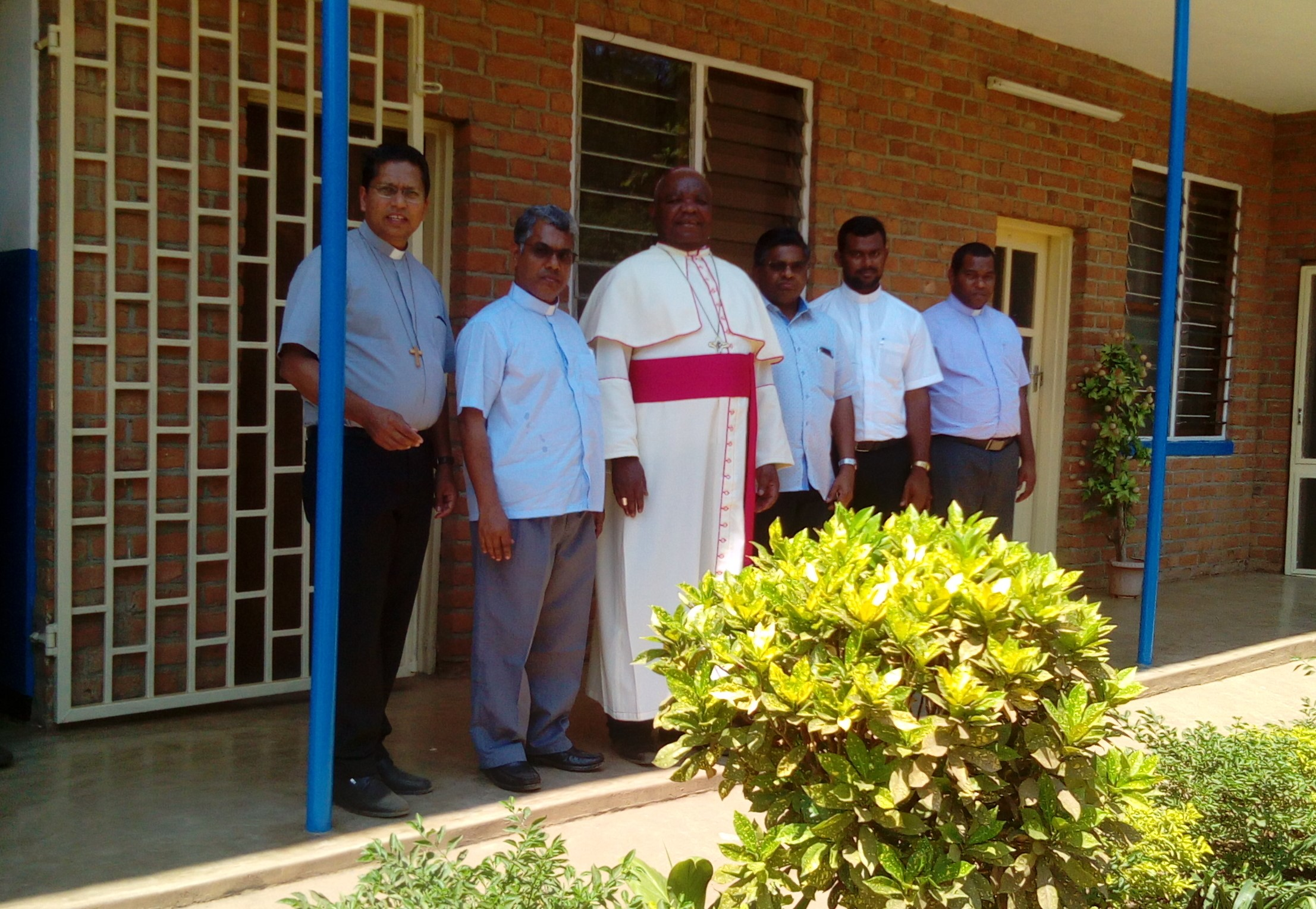 Bishop Mtumbuka Welcomes Missionaries of St Francis De Sales to the Diocese of Karonga