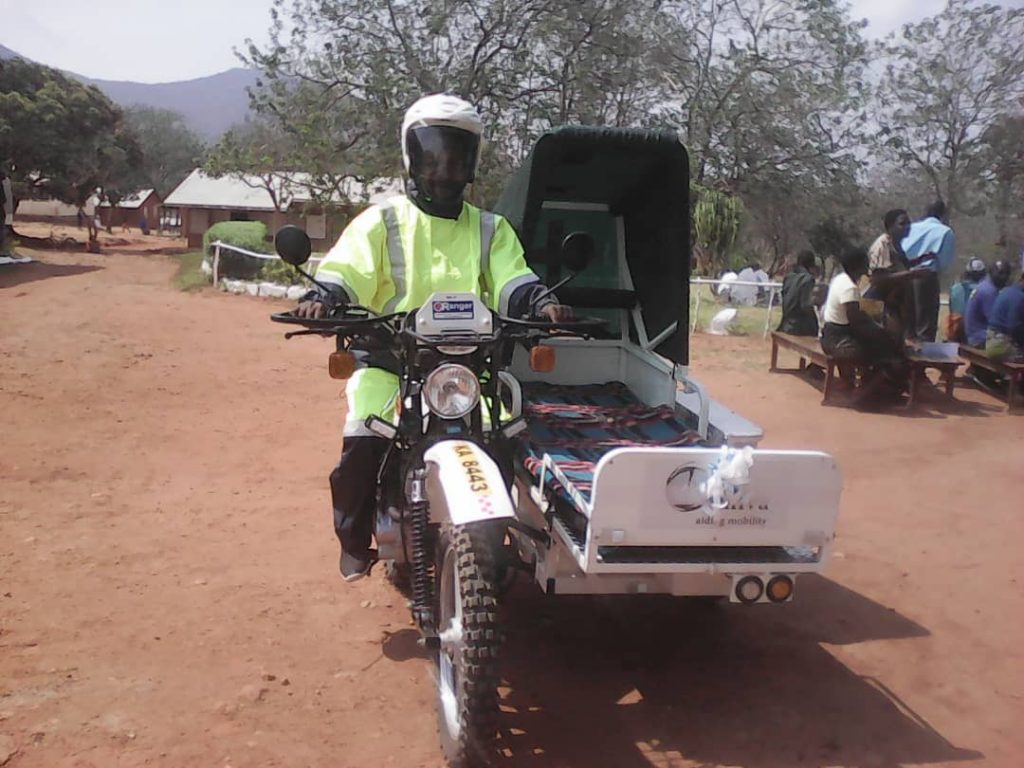 Motor Cycle Ambulance