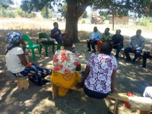 Constituency Political Party Leaders Make a Commitment to Support Female Aspirants