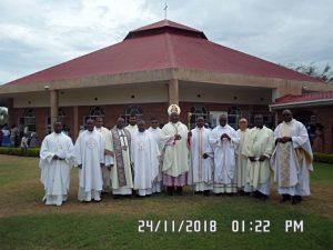 Bishop Mtumbuka Closes Year of Our Small Christian Community