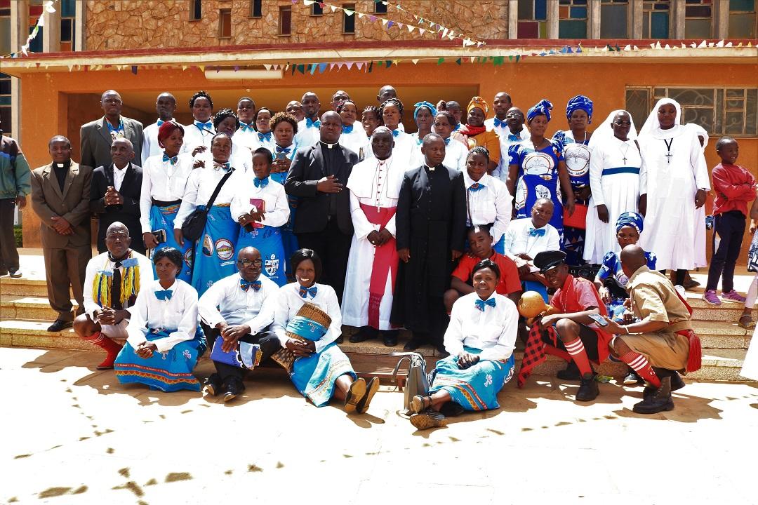 Tuntufye Choir Visit Njombe Diocese