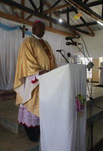 Bishop Mtumbuka Donates Assorted Books and Iron Sheets to Ntchowo Primary School
