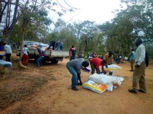 Lusubilo Distributes Farm inputs to 3100 Vulnerable Households