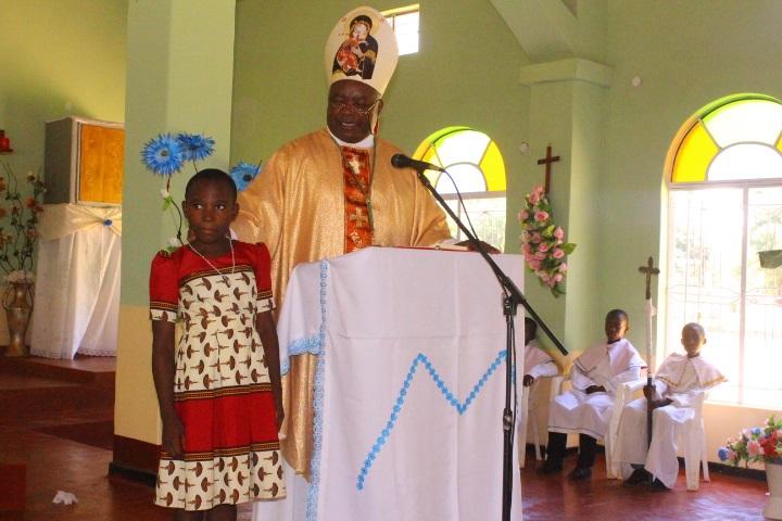 Bishop Mtumbuka Grants Caroline Banda a Place At St Mary's Karonga GSS