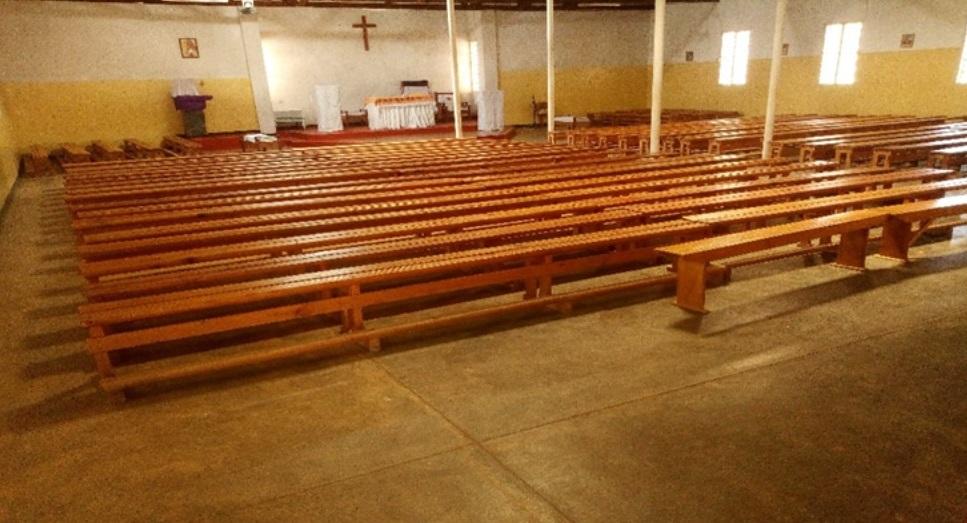 Inside St Michael's Parish Church