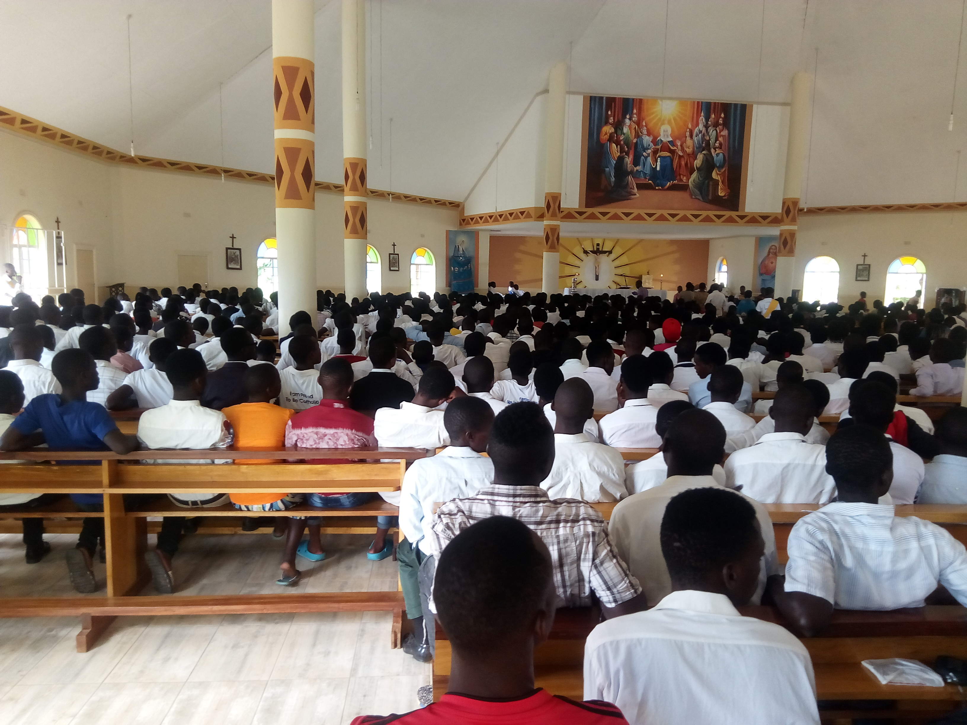 Youth Hold Inter-Parish Vocations Sunday Celebrations